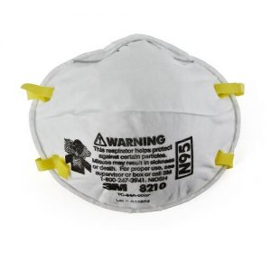 3M Particulate Respirator N95 Gas Mask