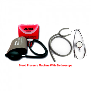 ALrK2 Blood Pressure Machine With Stethoscope (BP Set)