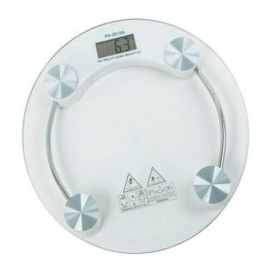 Clear Glass Personal Scale – Bathroom Scale PH-2015A