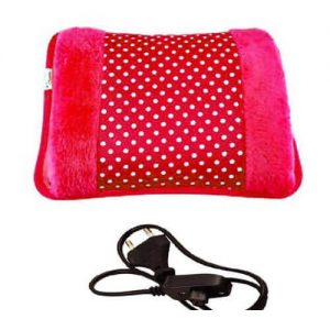 Electric Hot Water Bag with Hand Pocket