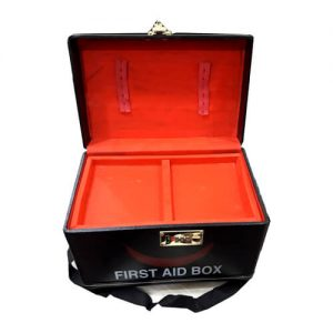 Family First Aid Box – Black Color 12″X7″