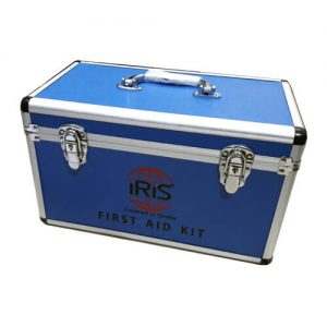 First Aid Box with Security Lock & Aluminum Protector