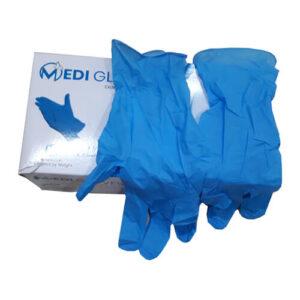 Medi Gloves Nitrile Hand Gloves – Powder Free