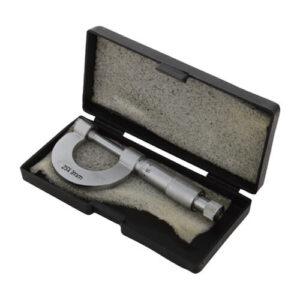 Micrometer Screw Gauge 25 mm, SS Thread in Velvet Box