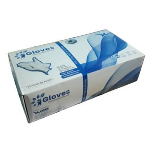 OMS Examination and Surgical Hand Gloves 100 Pcs/Box