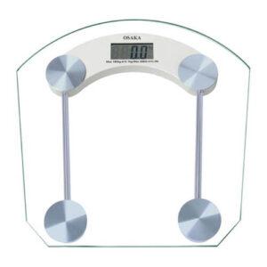 Osaka Digital Personal Scale White Glass Scale 180Kg