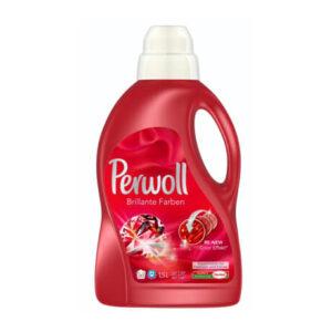 Perwoll Liquid (Red), 1.5 Liter Bottle, Henkel, Germany