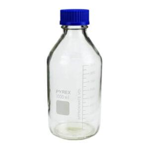 Pyrex 1000ml Lab Glass Bottle