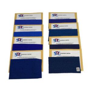 SDC Blue Wool Standards 1 to 8 each Pattern 15x25cm