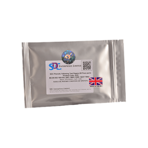 SDC Impregnated Test Papers 100mm x 75mm Test Fabrics
