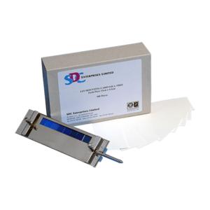 SDC Light Fastness Mounting Card 13 x 4.5 cm 200Pcs/Box