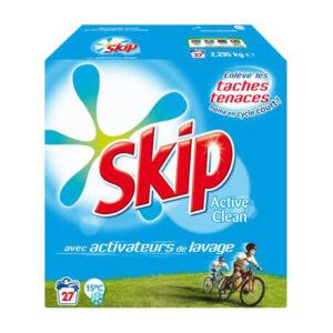 SKIP Active Clean Detergent Powder, 2.22 Kg Unilever
