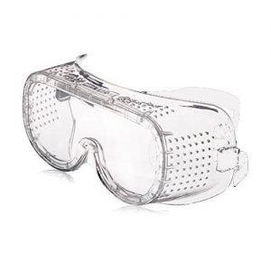 Safety Goggles Transparent Color With Rubber