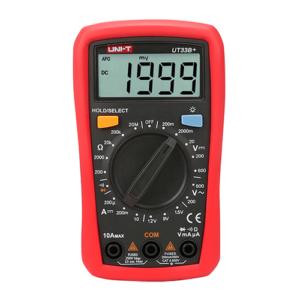 UNI-T UT33B+ Digital Multimeter (Palm Size)