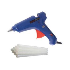 20W Hot Melt Glue Gun with 10 Pcs 10 Inch Glue Stick