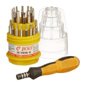 31 in 1 Jackly Professional Screw Driver Set High Quality