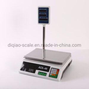 Hot Selling Good Feedback Weighing Balance Digital 40kg