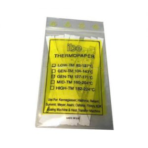 Thermo Paper Strip or Temperature Strips