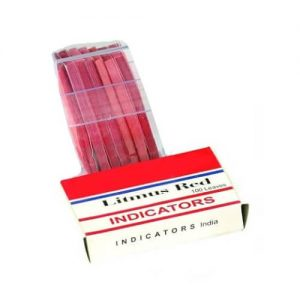 Litmus Paper Red India (100 Strips)