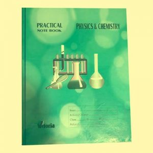 Physics and Chemistry Practical Note Book for SSC and HSC