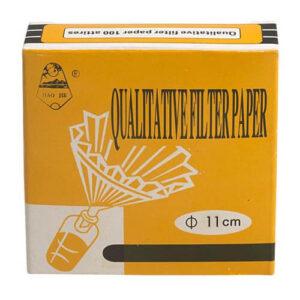 Qualitative Filter Paper 100 Attires 11 cm