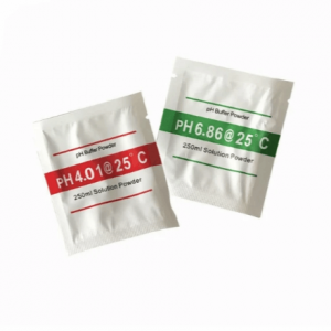 2 Pcs pH Buffer Solution Powder for calibration of pH meter (pH 4.01 + pH 6.86)