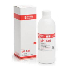 Buffer Solution pH 4.01 Hanna 500 ml Bottle