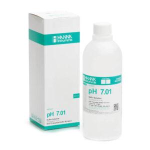 Buffer Solution pH 7.01 Hanna 1000 ml Bottle