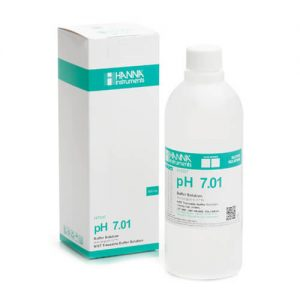 Buffer Solution pH 7.01 Hanna 500 ml Bottle
