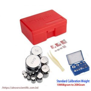 Calibration Weight Set, Weight Box 10Mg-200Gm