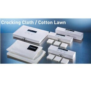 Crocking Cloth-5 x5 cm 500 Pieces per box James heal England