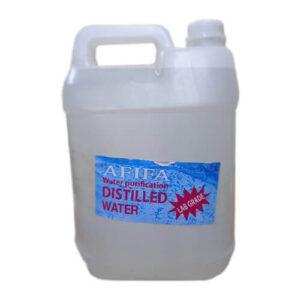 Distilled Water 5 Liter Can