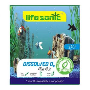 Lifesonic Dissolved Oxygen (DO) Test Kit for Water Testing (100 Tests)