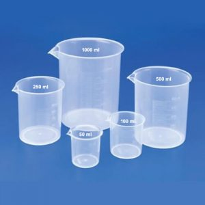 PolyLab Beaker Set 50ml, 100ml, 250ml, 500ml & 1000ml