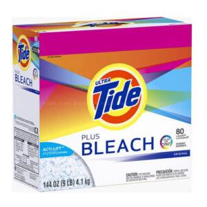 Tide Plus Bleach Detergent Powder, 4.10 KG P&G, USA