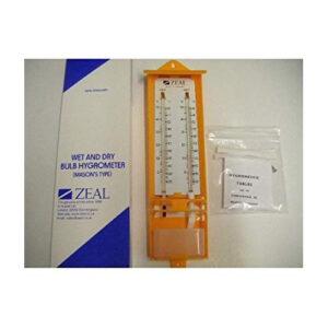 Zeal Wet & Dry Bulb Hygrometer Mason's Type