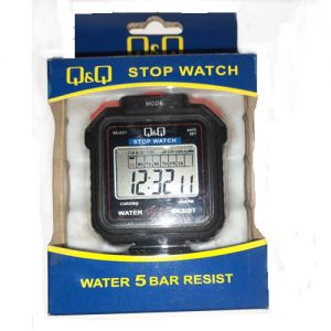 Q&Q Stop Watch HS43 Water 5 bar Resist