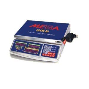 Mega 35 Kg Digital Weight Scale Gold-JJ-28 SS
